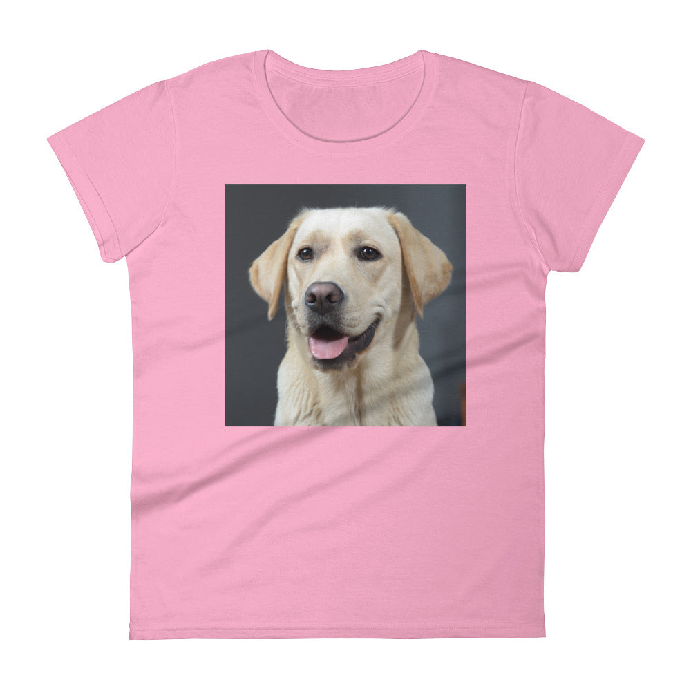 Women's short sleeve Golden Labrador Tshirt