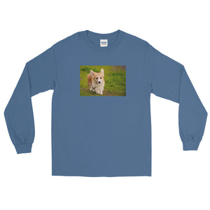 Long Sleeve Outdoor Corgi TShirt