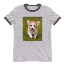 Load image into Gallery viewer, Ringer Corgi Puppy TShirt