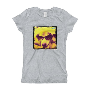 Girl's Beagle with Sunglasses TShirt