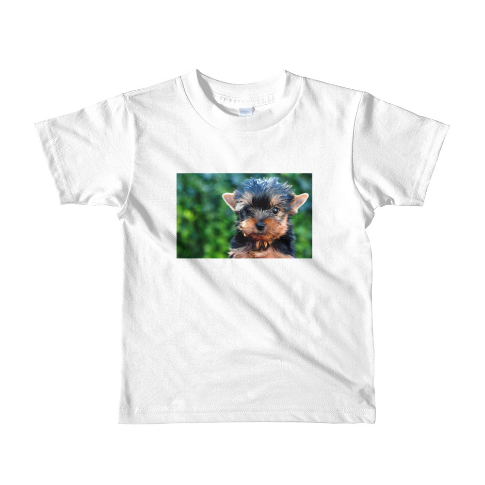 Yorkshire Terrier Short sleeve kids Tshirt