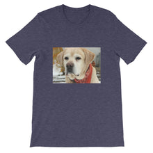 Load image into Gallery viewer, Short-Sleeve Unisex Jespah the Yellow Labrador Tshirt