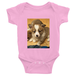 Infant Corgi Puppies Onesie Bodysuit