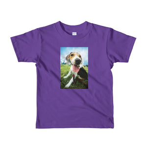 Short Sleeve kids Outdoor Beagle Tshirt