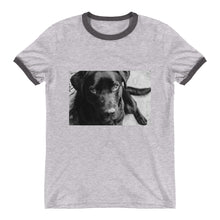 Load image into Gallery viewer, Ringer Black Labrador TShirt