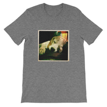 Load image into Gallery viewer, Short-Sleeve Unisex Sleeping Rodi the Beagle Tshirt