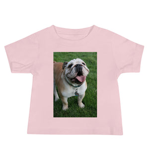 Baby Jersey Outdoor Happy Matilda Bulldog Short Sleeve Tshirt