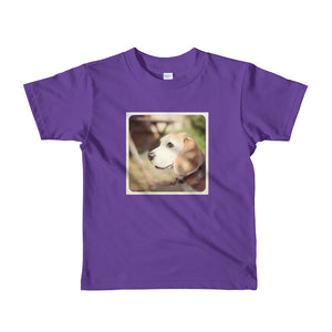 Short sleeve kids Beagle Tshirt