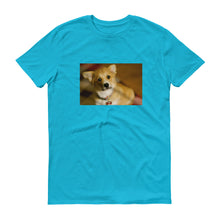 Load image into Gallery viewer, Short-Sleeve Corgi Puppy Tshirt