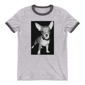Ringer Teddy the Terrible Chihuahua TShirt