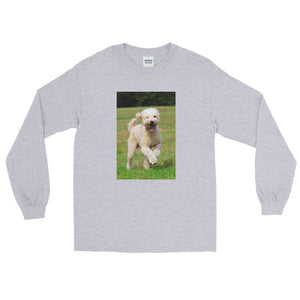 Long Sleeve Outdoor Poodle TShirt
