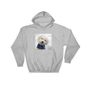 Hooded Snow Poodle Sweatshirt