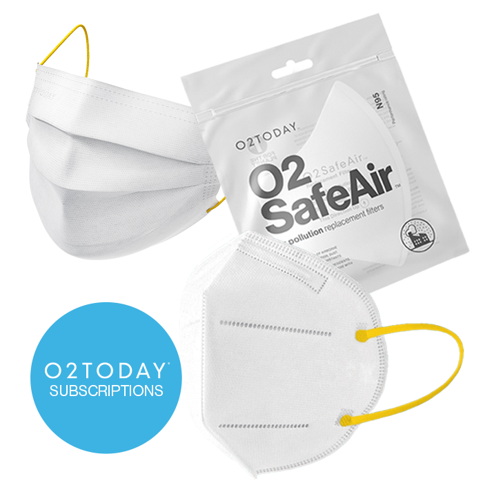 O2TODAY - Subscriptions. O2Health and O2SafeAir replacement filters