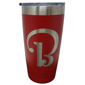 "Beechcraft ""B"" Logo - 20oz Closeout Red Only"