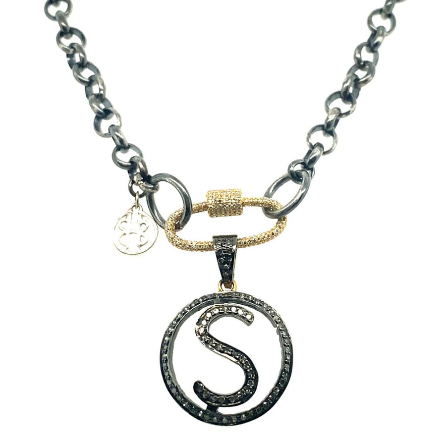 Mothers Day Necklace with Initial - Limited Edition
