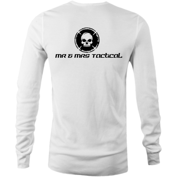 Mr & Mrs Tactical - Mens Long Sleeve T-Shirt-Mr & Mrs Tactical