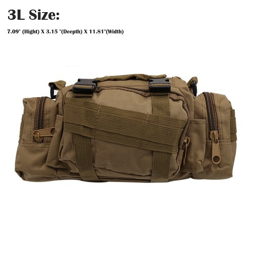 Tactical Pouch Bag-Mr & Mrs Tactical