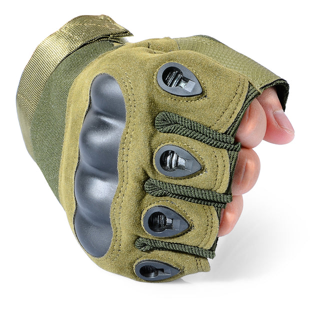 Tactical Fingerless Gloves-Mr & Mrs Tactical