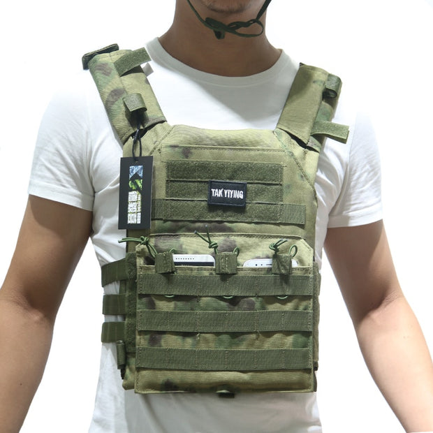 Tactical Plate Carrier Vest-Mr & Mrs Tactical