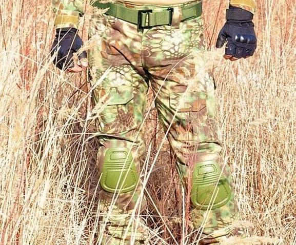 Multicam Tactical Combat Cargo Pants With Knee Pads-Mr & Mrs Tactical