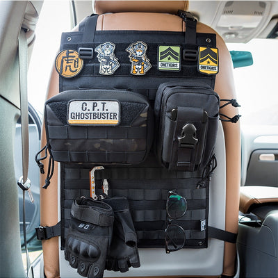 Tactical Molle Car Seat Organizer-Mr & Mrs Tactical
