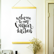 Ladda bilden i galleriläget, Affisch Welcome to my vegan kitchen