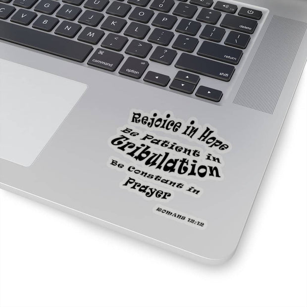 "Kiss-Cut Stickers ""Romans 1212"" (4446910873694)"