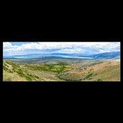 "Panoramic Canvas Wrap ""Mono Lake Vista Point"" (3391239487588)"