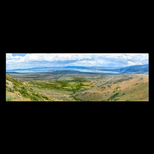 "Panoramic Canvas Wrap ""Mono Lake Vista Point"""