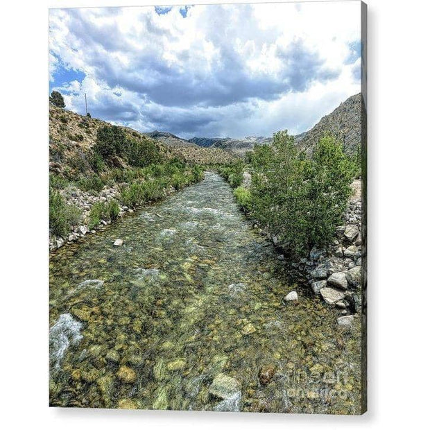 Acrylic Print West Walker River Acrylic Print