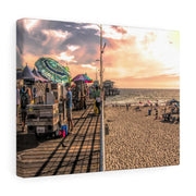 "Canvas Print ""Beach Day"""