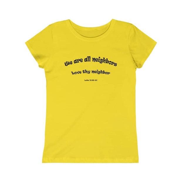 "Girls Princess Tee ""Neighbors"" (4612668588126)"
