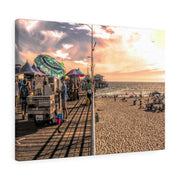 Canvas Print Beach Day 24 × 18 / Premium Gallery Wraps (1.25) Canvas Print (2873507610724)