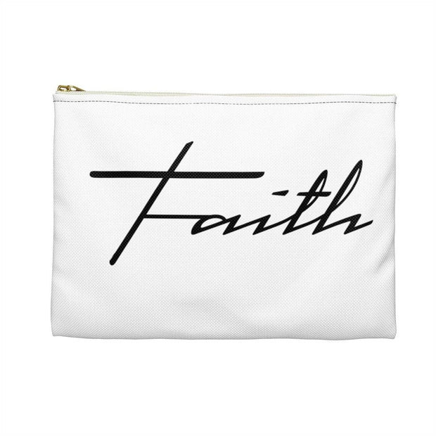 "Accessory Pouch ""Faith"" in 2 Sizes"