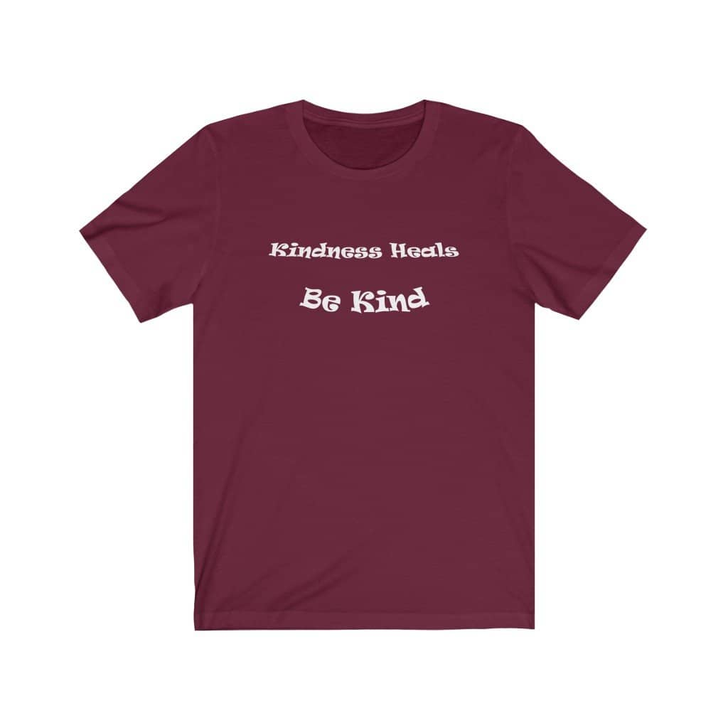 "Bella & Canvas Short Sleeve Tee ""Kindness"" in 12 Colors and 7 Sizes (4488982003806)"