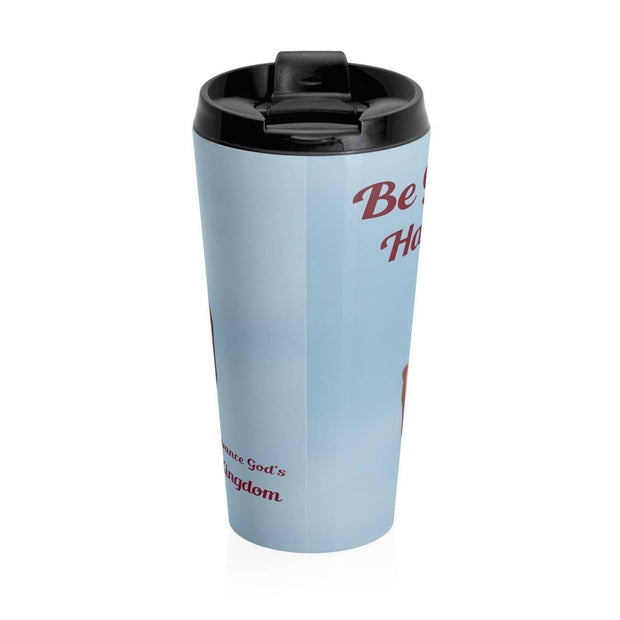 Stainless Steel Travel Mug Be Gods Hands Mug (3118305935460)