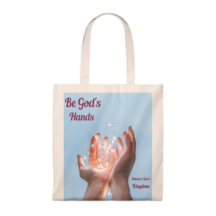 Tote Bag - Vintage Be Gods Hands Bags