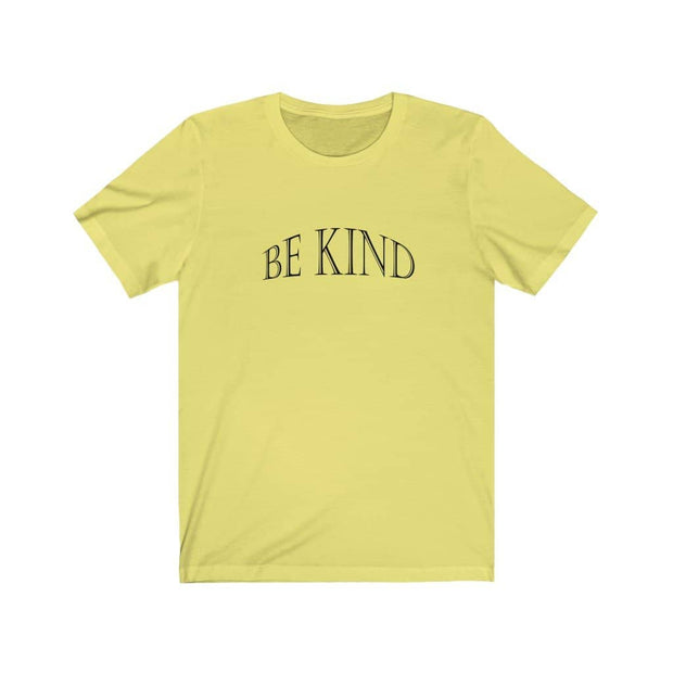 "Bella  & Canvas Short Sleeve Tee ""Be Kind"" in 12 Colors and 6 Sizes (4507900379230)"