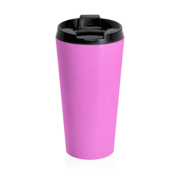 Stainless Steel Travel Mug Pink In God We Trust Mug