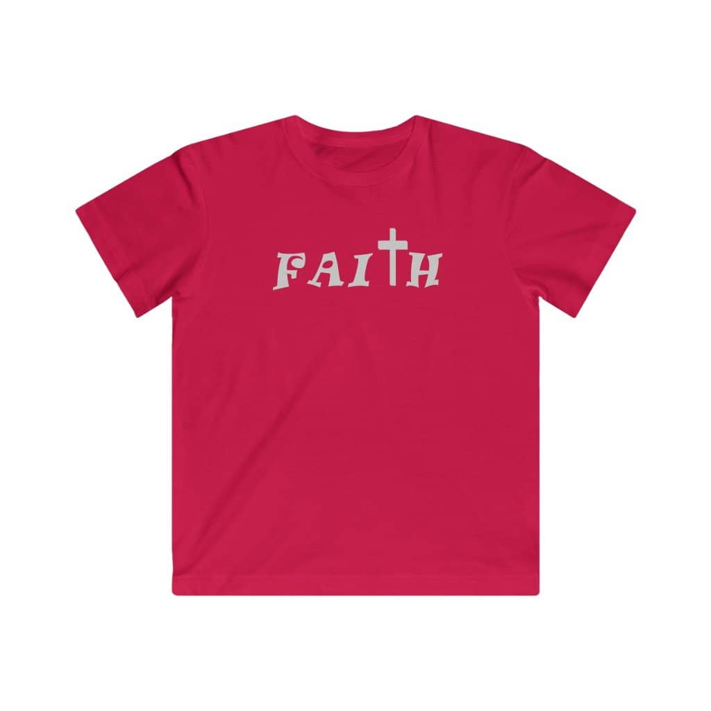 "Kids LAT Apparel Tee  ""Faith"" (4366801961054)"