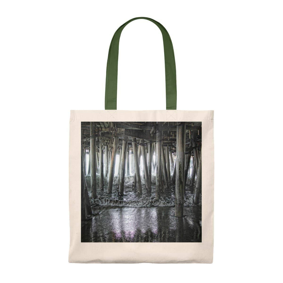 Tote Bag - Vintage Under the Pier (5 Colors) Bags (2854226231396)