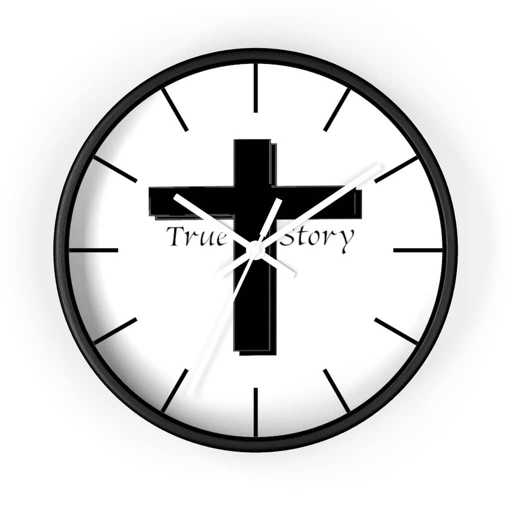 "Wall Clock ""True Story"" (3436029018212)"