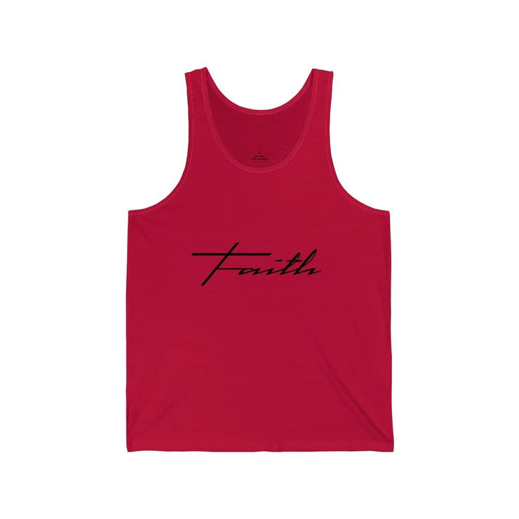 "Bella & Canvas 3480 Jersey Tank ""Faith"" in 17 Colors and 6 Sizes (3323161673828)"