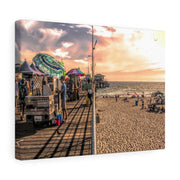 Canvas Print Beach Day Canvas Print (2873507610724)