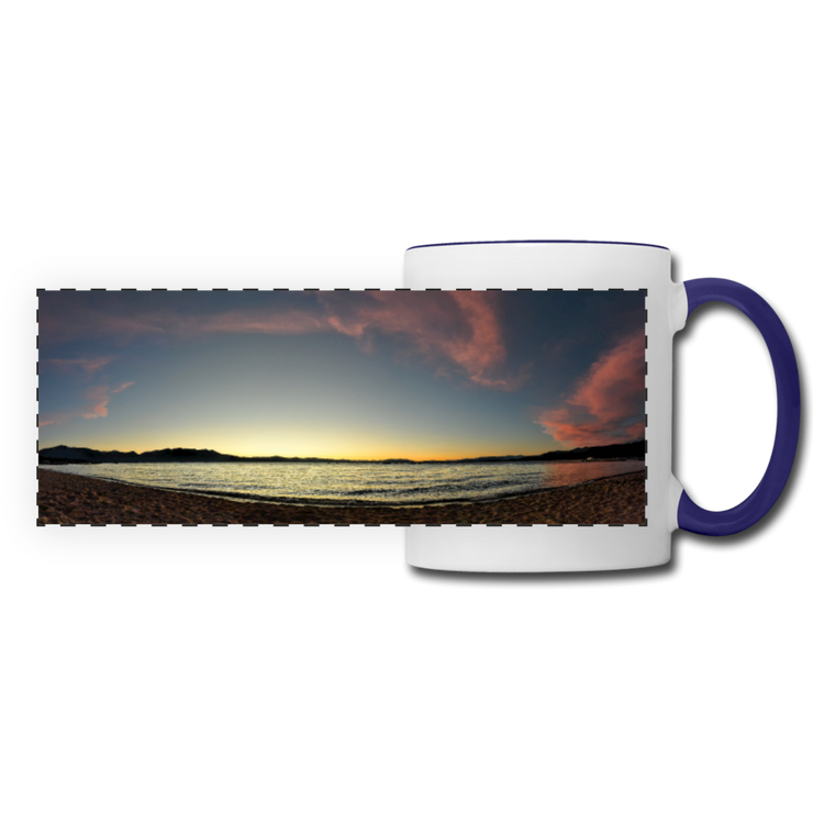 Panoramic Mug Lake Sunset 11fl.oz Ceramic Panoramic Mug