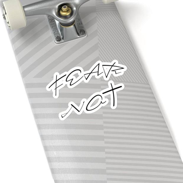 "Kiss-Cut Stickers ""Fear Not"" in 4 Sizes (4394315612254)"