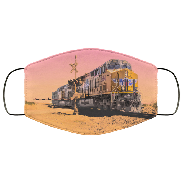"FMA Face Mask ""Sunset Train"" (4707608461406)"