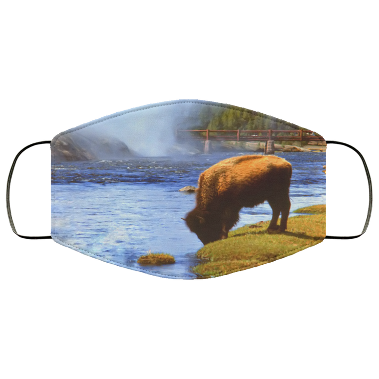 "FMA Face Mask ""Bison"" (4687408988254)"