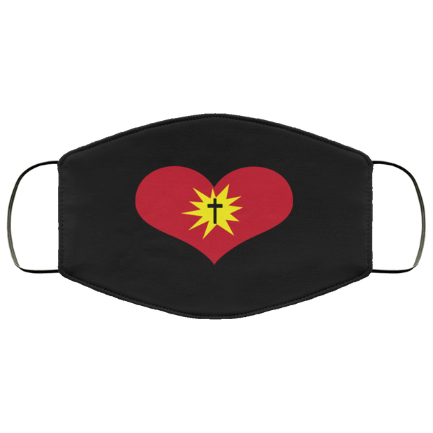 "FMA Face Mask ""Heart"" (4641162854494)"