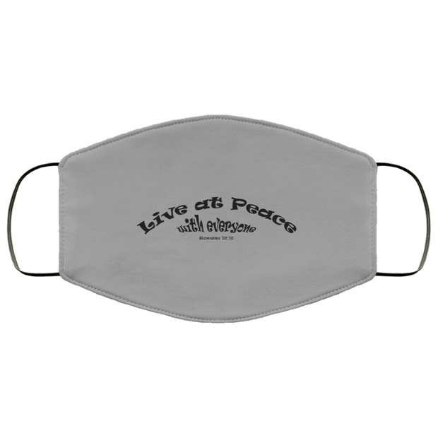 "FMA Face Mask ""Live at Peace"" (4662356246622)"